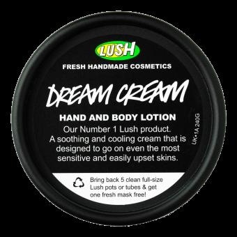 Dream Cream Crema Corpo Lush