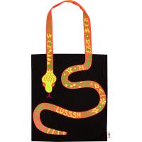 Un bolso con imagen de serpiente