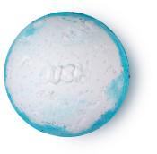 Big Blue modrá a bílá koupelová bomba