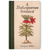 book cover with a botanical illustration