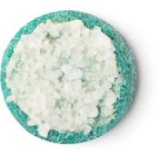 Flyway champú sólido de color azul verde con sal marina para aportar volumen y textura