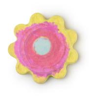 Mum Look What I Made You Badebome in der Form einer Blume