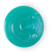 happy é um dos geis de duche exclusivos ce natal com um aroma fresco e uma cor azul turquesa