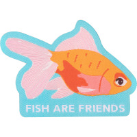 fish are friends swag patch
