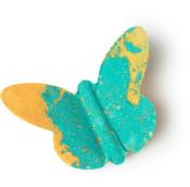 butterfly bomba de baño de color verde y naranja en forma de mariposa primavera 2019