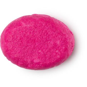 Pinker, fester Conditioner ohne Verpackung