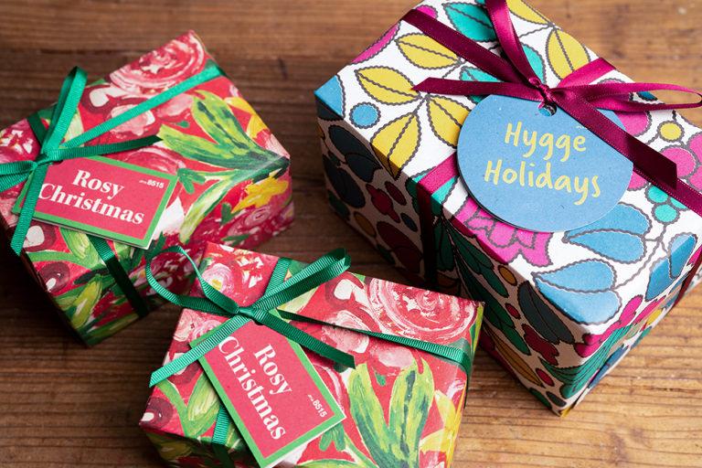 ラッシュ LUSH ギフト 贈り物 和紙 クリスマス クリスマスギフト 生物多様性 イヌワシ サステナブル プレゼント