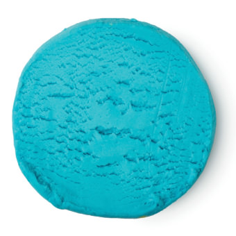 Blaue Fun Waschknete