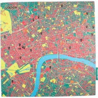 splash maps london knot wrap