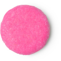 coconut rice cake shampoo bar