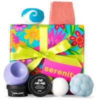 Australian version of Serenity gift by Lush