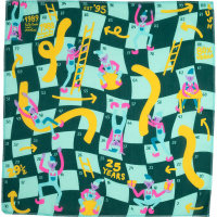 a snakes and ladders knot wrap