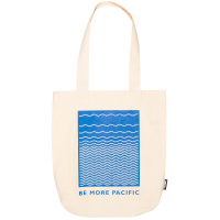 be more pacific tote bag swag