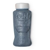 flaschenförmiges schaumbad