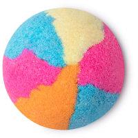 aurora borealis exfoliante corporal color arcoirís con azúcar y sal marina