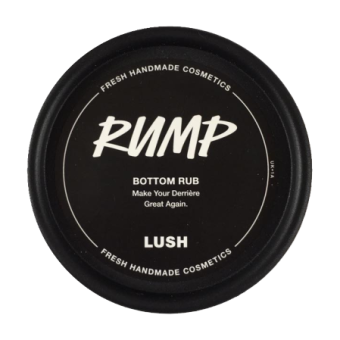 lush rump bodylotion