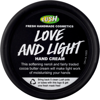 Love And Light Crema per le mani Lush