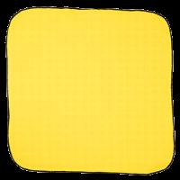 yellow knot wrap