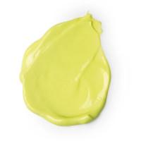 calacas nueva crema corporal de color amarillo con revitalizando fragancia