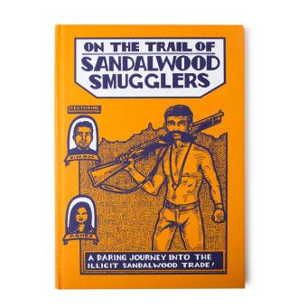 Sandalwood Smugglers Graphic Novel