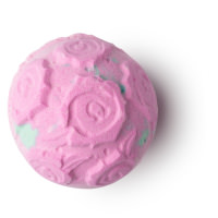 Giant Rose Bombshell pink bath bomb