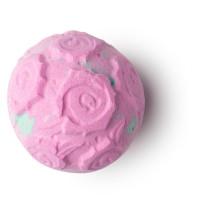 Bomba de banho de cor rosa dia dos namorados
