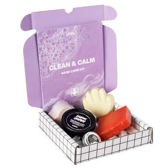Kit con productos para limpiar e hidratar las manos