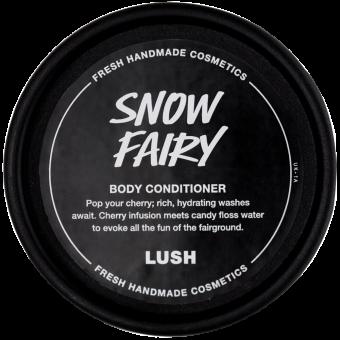 Pote preto do condicionador corporal doce Snow Fairy