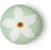 jasmine flower bomba de baño de color verde y blanco en forma de una flor de jazmín primavera 2019