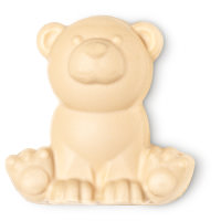 a handmade bear shaped soap