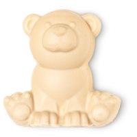 jabón navideño en forma de oso hecho a mano