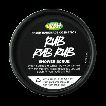 Rub Rub Rub (Atollo 13) Gel doccia esfoliante Lush