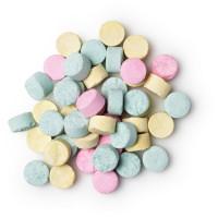 toothy fruity pastillas para limpieza bucal de colores y diferentes sabores