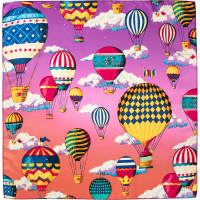 hot air balloon themed knot wrap