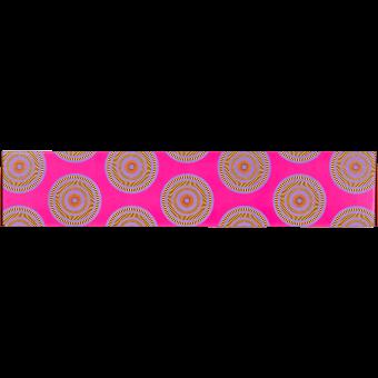 Orbital Pink Geschenk zum Baden - Verpackung von der Seite
