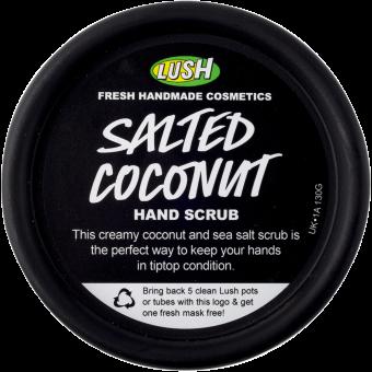 Salted Coconut Scrub mani Lush