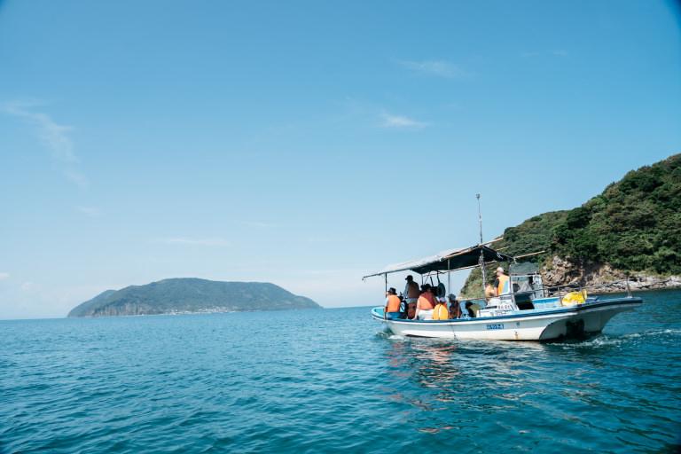 Boat trip Kaminoseki