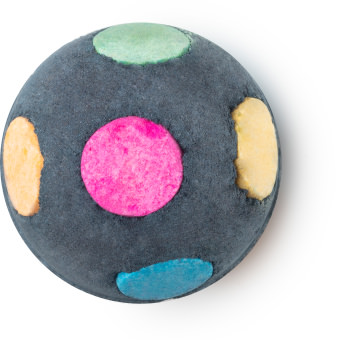 worlds smallest disco christmas bath bomb