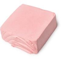 Rosafarbenes festes Proteinshampoo ohne Verpackung