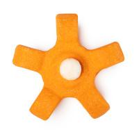 Espuma de banho spinning plates laranja para quem tem muito que fazer