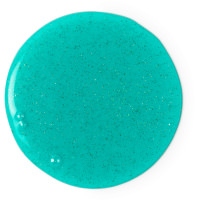 intergalactic gel de ducha de color verde mentolado