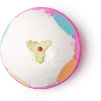 luxury lush pud christmas bath bomb