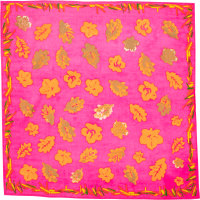 autumn leaves knot wrap christmas