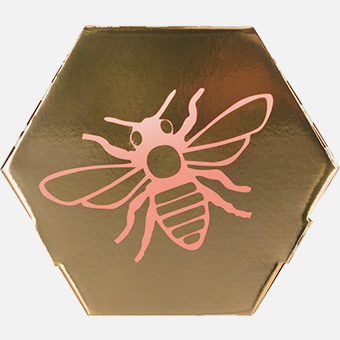 Honey Geschenk, Boxansicht von der Rückseite