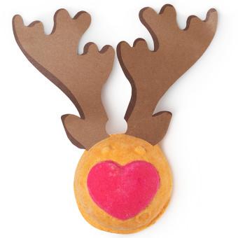 Rudolph - Bomba da bagno a forma di renna di Babbo Natale in edizione limitata Natale 2019