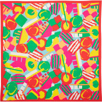 Un knot wrap muy colorido como los dulces