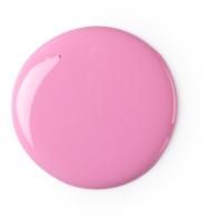 american cream gel de ducha vegano de color rosa con fresas y vainilla