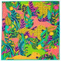 Knot Wrap di San Valentino It's A Jungle Out There con disegno di animali della giungla