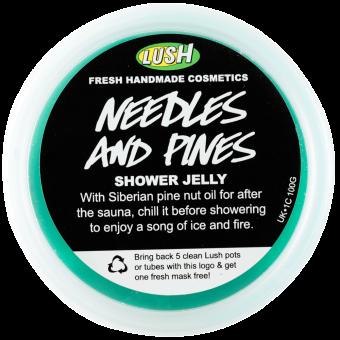 Needles And Pines | Gelatina da doccia in Edizione Limitata e in Esclusiva Online | Con Infuso di Aghi di Pino, Foglie di Cipresso e Carragenina