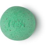 geo phyzz bomba de baño de color verde con sal